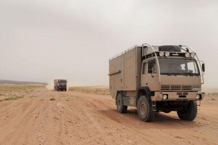 Expeditionsmobil Wüste Libya Rally Marokko 2015