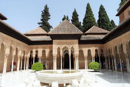 Alhambra Spanien Reisebericht Allradnomaden