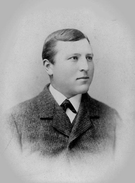 Heinrich Heymer aus Estinghausen bei Sundern nach seiner Ankunft in Detroit