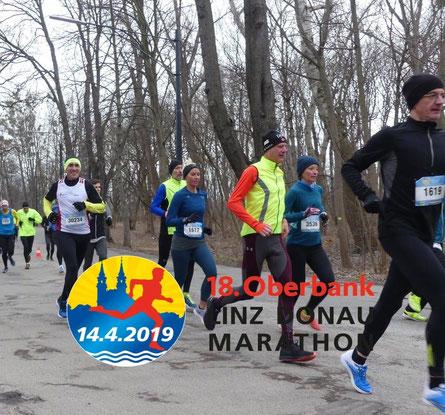 Viktor Fally, hier bei einem Vorbereitungsrennen auf den Linz-Marathon (Startnummer 30234; Foto: privat)