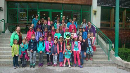 Unsere Minis beim Ausflug nach Ginzling am 11. Juni 2016.