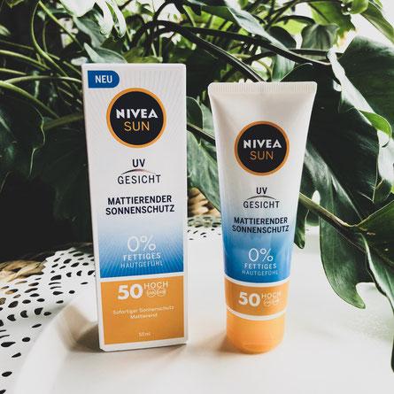 Nivea Sun UV Gesicht Produkttest