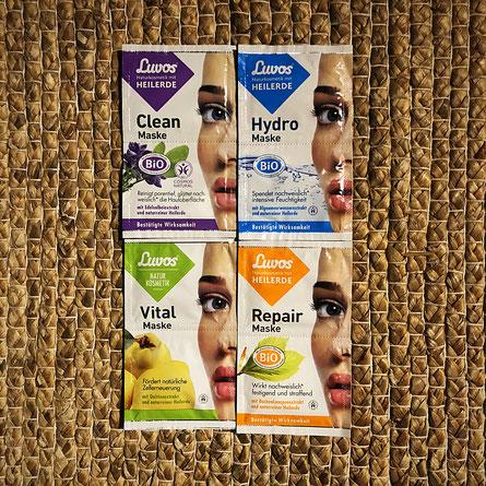 Luvos Gesichtsmasken #Produkttest #Heilerde #Naturkosmetik