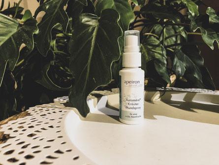 Apeiron - Mundwasser Spray