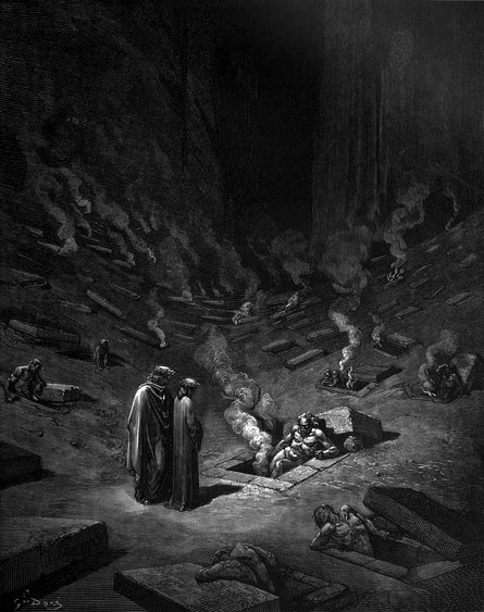 Image by Gustave Dore from 'Dante's Inferno'