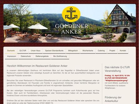Startseite www.goldener-anker-weissenstein.de