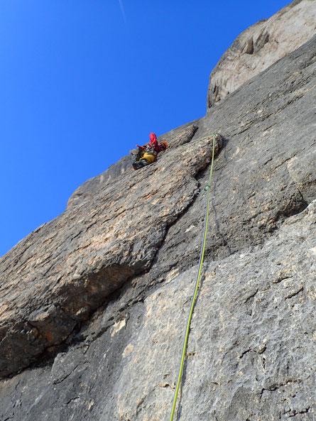 die tolle Schuppe nach der Messnerplatte