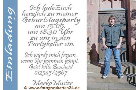 Geburtstag Einladungskarten Einladungen