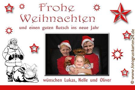Weihnachtsgrusskarten