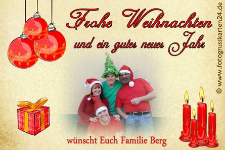 Weihnachtgrusskarten
