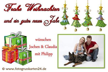 Weihnachten Grusskarten
