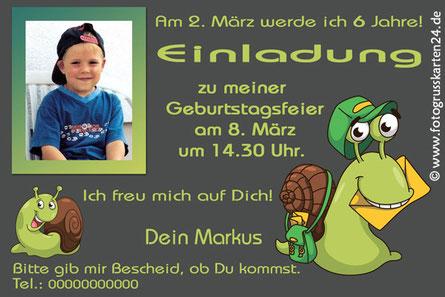 Einladungen Kinder Geburtstag