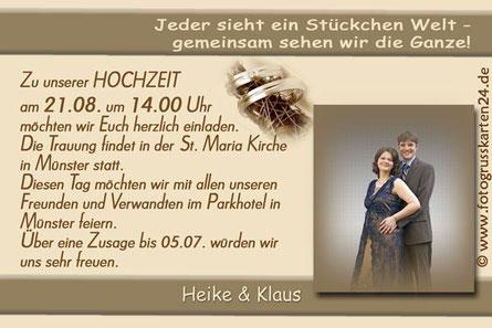 Einladungskarten zur Hochzeit Einladungen zur Trauung