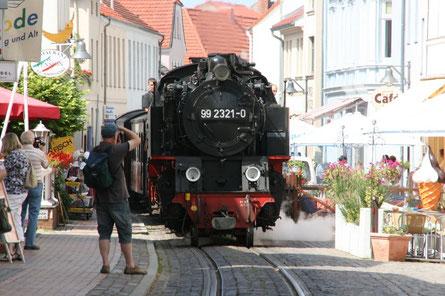 Molli Eisenbahn in Bad Doberan