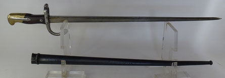 baionnette 1874 fusil gras