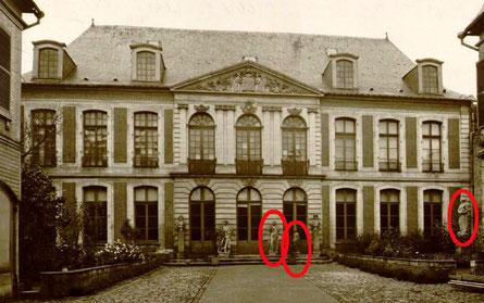 Hôtel de Chepy, demeure de Boucher de Perthes, ancien musée Boucher de Perthes d'Abbeville, avant le bombardement de 1940 / Fonds Macqueron, © Bibliothèque municipale d'Abbeville