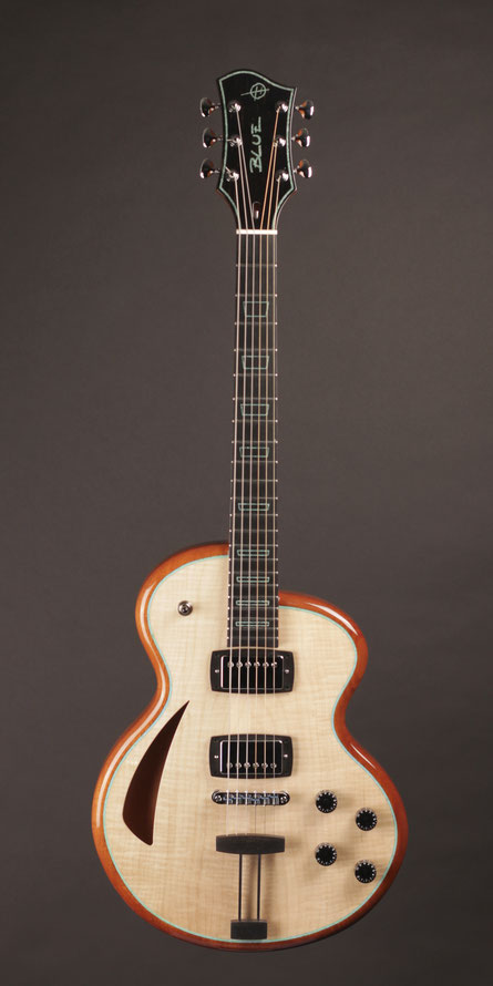 Heeres Guitars Model 'Blue' Thinline Electric