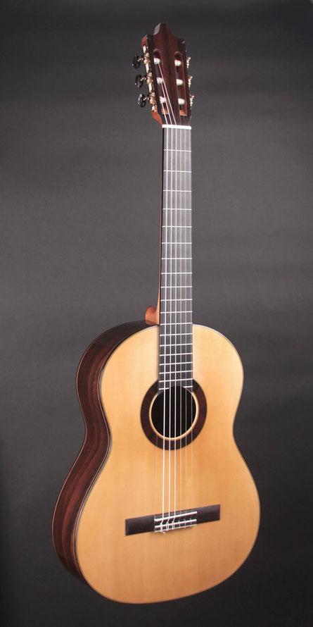Heeres Guitars Ziricote Flamenca Negra