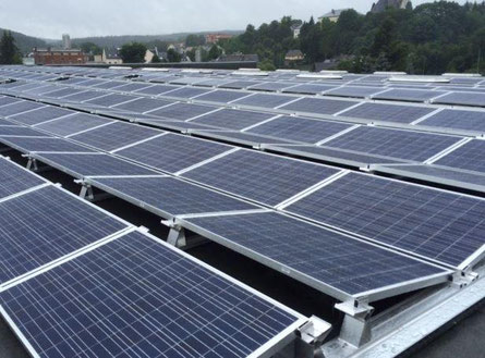 Solaranlage in Altdorf bei Nürnberg