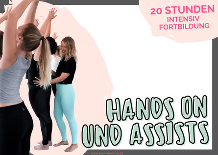 Yoga Fortbildung Hands On und Assists