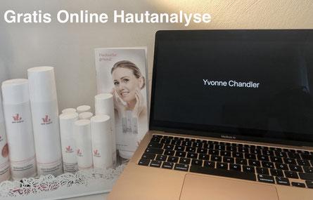 Laptop, PC, Online, Yvonne Chandler, Von Lupin Pflegeprodukte, Pflegeprospekte,