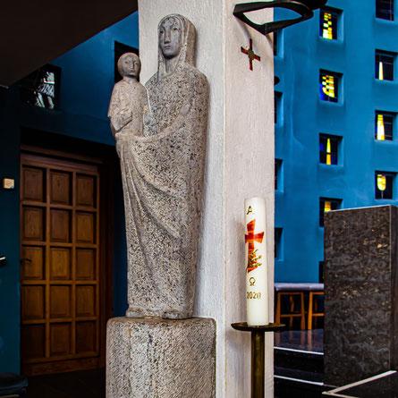 Madonna in St. Stephanus, Duisburg-Ungelsheim