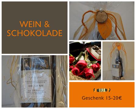 Wein & Schokolade ein tolles Duo zum Verschenken von Vintetrez Rutesheim