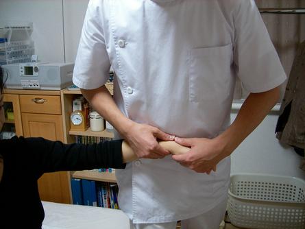 手関節施術の写真
