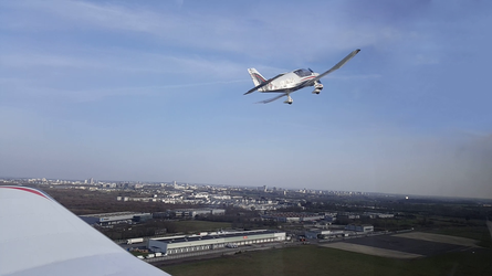 Break avion DR400 au dessus de Rennes