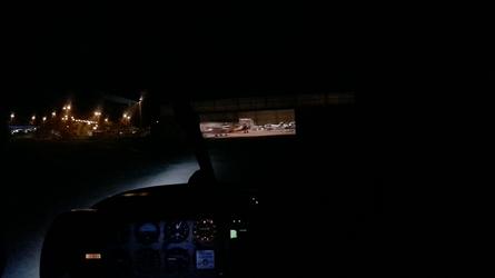 Vol de nuit DR400