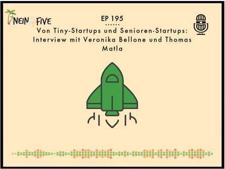 Der NEIN2FIVE Podcast Episode 195 ist seit dem 22.08.2021 online