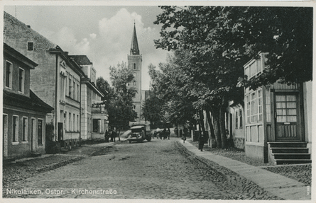 Kirche Nikolaiken: Quelle Bildarchiv Ostpreussen