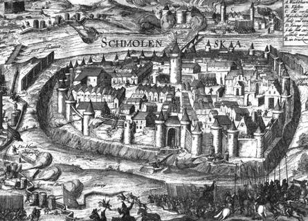 Smolensk, Anfang des 17. Jahrhunderts