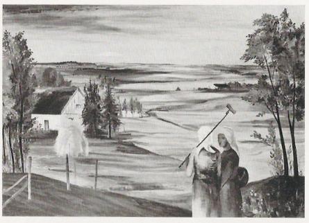 """Ruth Faltin """"Ostpreussische Landschaft"""""""