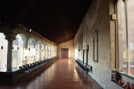 Chiostro superiore della chiesa di Santa Maria di Castello a Genova