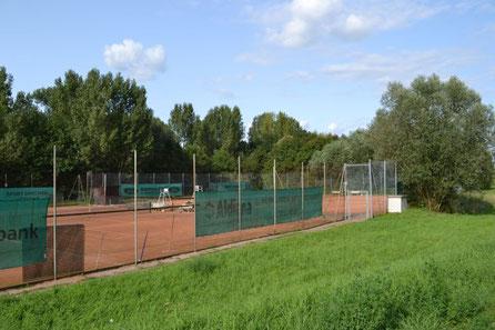 Tennisplatz und Tennisanlage SKG Stockstadt - Platz 4, 5 und 6