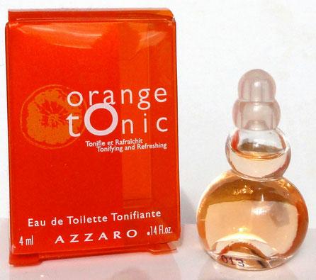 AZZARO - ORANGE TONIC, EAU DE TOILETTE TONIFIANTE 4 ML DANS BOÎTE EN PLASTIQUE