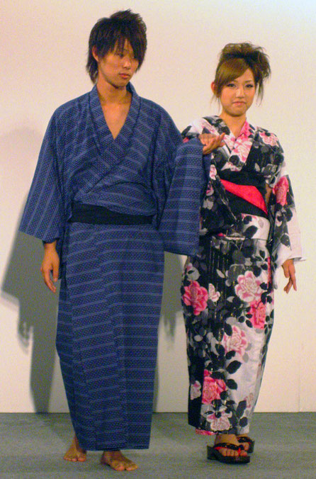You see many people in Yukata in summer in Japan Source  wikipedia df34219f9