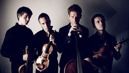 Le Quatuor Ebene © Julien Mignot