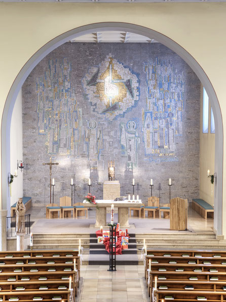Altarraum seit 1970