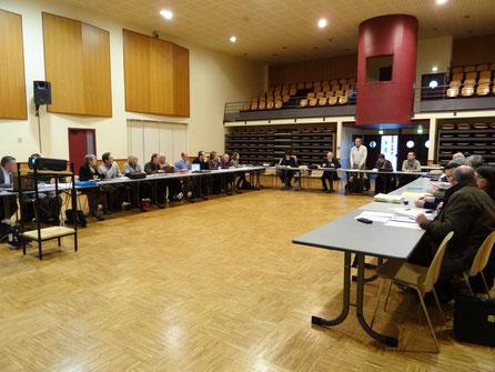 La Commission Locale de l'Eau réunie au Faouët