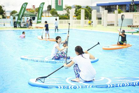 滋賀 琵琶湖 SUP プールサップ