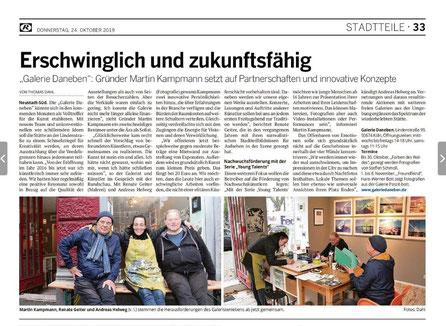 Kölnische Rundschau 24.10.19