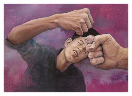 """Alles klar!"" * Öl auf Leinwand * 50 x 70 cm * 2014-2016"