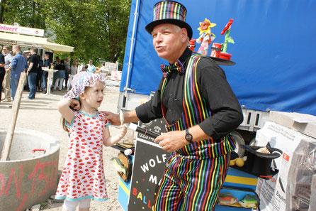 Kinderbelustigung in Dortmund, Zauberspruch-Schulung