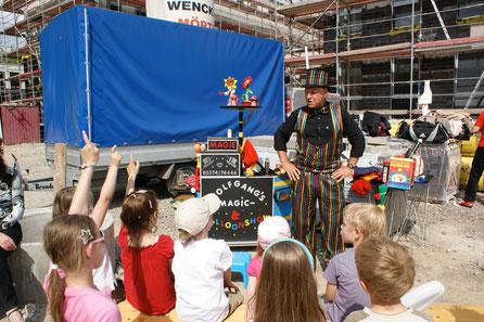 Wolfgang der Magier: Zauberkünstler für Kinder aus Iserlohn, NRW
