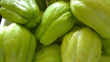 Chuchu,Xuxu,Chayote,Gemüse,Legumes,Vegetables,Martins-Kulinarium,Carvoeiro,Algarve,Portugal