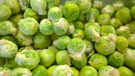 Rosenkohl,Couve de Bruxelas,Brussels sprouts,Gemüse,Legumes,Vegetables,Martins-Kulinarium,Carvoeiro,Algarve,Portugal