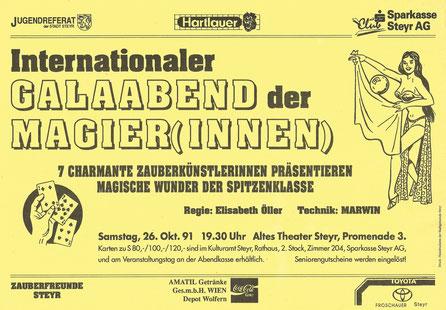 Galaabend der Magierinnen 1991
