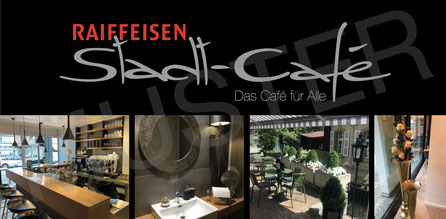 Raiffeisen Stadt-Café - Foto Muster Gutschein Vorderseite